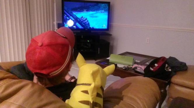charming and pika playing far cry