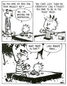panic inspiration