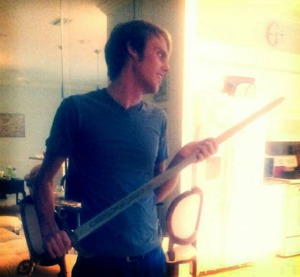 Ladies and gentlemen... the blade of Robin of Locksley.